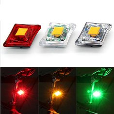 USB Rechargeable Cycling Bike Bicycle Flashing Reflective Tail Light
