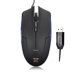 E-Blue Cobra 1600DPI Adjustable USB Wired Optical Gaming Mouse