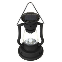 Outdoor Camping Solar Cell Panel Lantern Hand Crank 7 LED Lamp