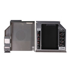 SATA 2nd HDD CD/DVD-ROM Hard Drive Caddy for DELL D600 D610 D620 D630 D800 D810