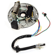 Pit Dirt Bike Parts Magneto Coil Stator Plate for 110cc 125cc SUVs