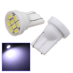 10X T10 8 LED SMD White Car Bulb Wedge Side Light Lamp