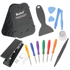 KAISI 15 in 1 Repair Screwdriver Disassembly Tools For Mobilephones