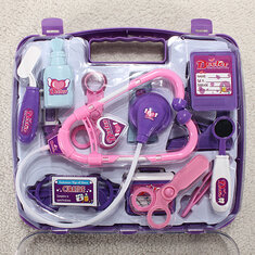 Baby Pretended Doctor Play Set Carry Case Medical Kit