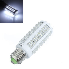 E27 6.5W Pure White 108-LED 450-Lumen LED Corn Light Lamp Bulb 220V