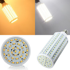 E27 40W White/Warm White 5630 SMD 165 LED Corn Light 110V