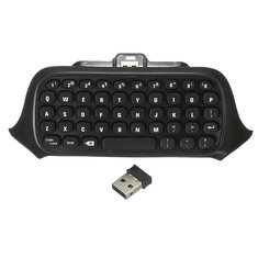 2.4G Mini Wireless Chatpad Message Keyboard for Xbox One Controller