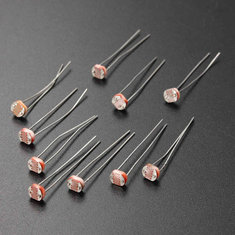 10 PCS 5MM Light Dependent Resistor Photoresistor GL5528 LDR