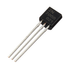 10pcs 2N7000 N-Channel Transistor Fast Switch MOSFET TO-92
