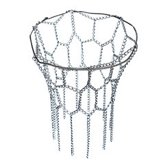 12 Loop Steel Basketball Net Sports Hoop Metal Chain fit Official Rims