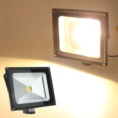 50W Warm White 4200LM PIR Motion Sensor Security Flood Light 85-265V