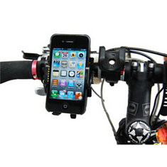 Universal Outdoor Bike Bicycle Handlebar Clip Holder Phone Stand for iPhone Xiaomi Smartphone