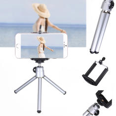 360 Rotatable Mini Stand Tripod Mount Phone Holder