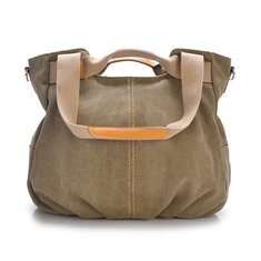 Canvas Casual Women Messenger Bags Vintage Handbag Shoulder Big Bag