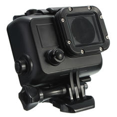 Under Water Waterproof Dive Stand Housing Case For Gopro Hero 3 3 Plus 4 Black