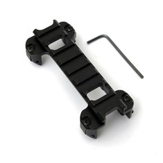 Dovetail Guide Rail Bracket Clip Holder Mount For MP5 Weaver Scope (Flashlight Accessories