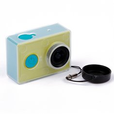Ultra Thin Sports Camera Shell Protection  With Lens Cover For Xiaoyi Camera