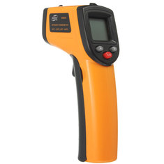BENETECH GM320 Non Contact Laser LCD Display Digital IR Infrared Thermometer Temperature Meter Gun -50℃ to 330℃