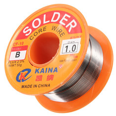 63/37 1mm Tin Lead Rosin Core Flux Solder Soldering Welding Iron Wire Reel
