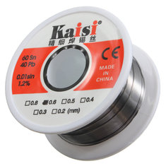 60/40 0.6mm Tin Lead Rosin Core Flux Solder Soldering Welding Iron Wire Reel