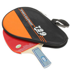 Outdooors Sports Shorts-handle Table Tennis Racket Bat With Carrying Case