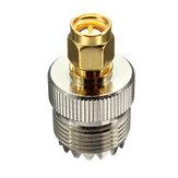 Jack UHF SO239 femelle SMA fiche mâle connecteur de l'adaptateur droite