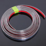 Chrome Car Styling Moulding Strip Trim Self Adhesive Crash Protecter