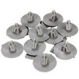 Pasos de rueda 10pcs recortar clips sujetadores para bmw r57 r56 r55 r53