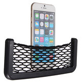 Car Seat Back Elastic String Storage Bag Auto Vehical Rack Support Mesh Pouch for Phone