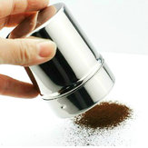Stainless Steel Power Duster Bottle Cocoa Powder Coffee Seasoning Bottle