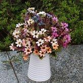 Artificial Daisy Silk Flowers Leaf Home Party Wedding Garden Decor DIY