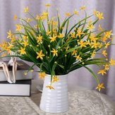 Artificielle Étoile De La Chance Fleurs Bouquet Plantes De Mariage De Noce Décor À La Maison 5 Couleurs