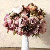 Pivoine artificielle fleurs de soie de la maison maison de fête de mariage décoration de jardin