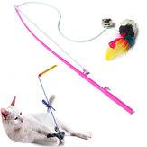 Mascota de juguete gato faux cuelgan rata ratón robar el jugar divertido juguete