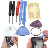 9in1 kit d'outils de tournevis de réparation Pry d'ouverture pour iPhone
