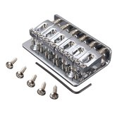 6 Saddle Hardtail Bridge Top Load 65mm Electric Guitar Bridge