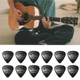 12PCS Celluloid Guitar Picks Plectrums  0.71mm For Guitar Bass