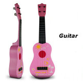 Children Kids Simulation Guitar Educational Toys 4 String Acoustic Developmental Musical Instruments