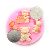 Silicone Winnie Fondant Cake Cup Cake Mold DIY Chocolate Mold