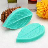 TC3773 Silicone Leaf Shaped Mold Fondant Cake 3D Silicone Mold Baking Decorating Tool