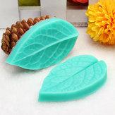 TC3773 Silicone Leaf Shaped Mold Fondant Cake 3D Silicone Mold Baking Decorating Tool