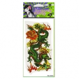 Dragon Pattern Design Animal Waterproof Temporary Tattoo Sticker Paper