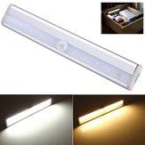 10 LED PIR Motion Sensor Light Voor Kabinet Garderobe Boekenkast Trap