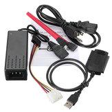 Câble convertisseur de disque dur USB 2.0 vers SATA IDE pour HD adaptateur HDD W
