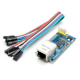 W5500 Ethernet Network Module TCP/IP Interface 51/STM32 Program