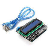 Geekcreit® UNO R3 USB Development Board Met LCD 1602 Toetsenbord Shield Kit Voor Arduino