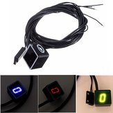 Universal Motorcycle LED Display Digital Indicator Shift Level Sensor