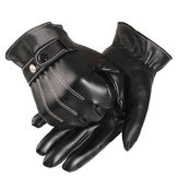 Touch Screen Gloves Winter Motorcycle Mens Driving Warm Luxurious