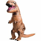 Adult T-Rex Inflatable Jumpsuit Dinosaur Blow Up Halloween Costume Outfit Decoration Toys