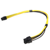 27cm 18AWG EPS Pcie 6PIN Male To PCI-E 6PIN Male Power Extension Cord Cable